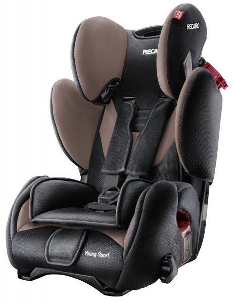 Kindersitz 9-36kg Recaro Young Sport (Farbe: Mocca)