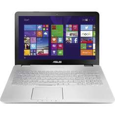 ASUS N550JK-DS544H Asus 39.6 cm (15.6 Zoll) Notebook Intel® Core™ i7 8 GB 256 GB SSD Nvidia® GeForce™ GTX850M Windows® 8.1 64-Bit Silber bei Conrad für 999 euro
