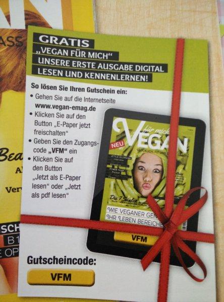 Zeitschrift x27Vegan für michx27 als PDF kostenfrei