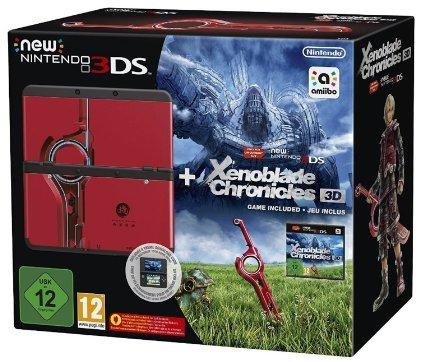 """New Nintendo 3DS """"Monster Hunter 4"""" Bundle oder New Nintendo 3DS """"Xenoblade 3D"""" Bundle"""