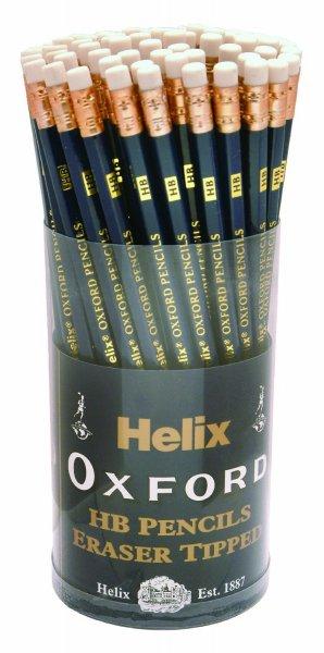 [Amazon-Prime]Helix Oxford P60272 Bleistift HB, mit Radiergummi, 72 Stück