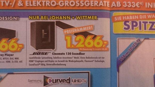 [Euronics Ratingen] Bose Cinemate 130 Euronics