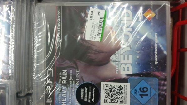 Lokal Mediamarkt Stadthagen.....Beyond: Two Souls (PS3) für 2,-€
