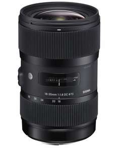 Sigma Objektiv Art 18-35 mm  f1,8 DC HSM (Sony A-Mount) für 527,26 € @Amazon.it