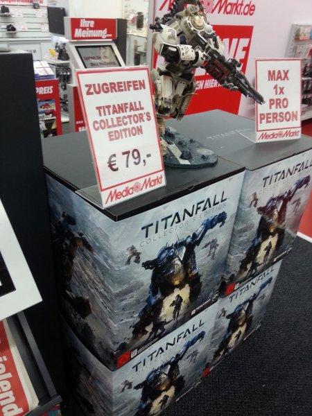 [Lokal] Köln-Chorweiler Media Markt: Titanfall: Collectors Edition - 79€ - PVG 265€