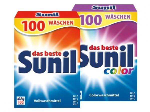 [offline] Supersamstag bei Lidl, 8. 8. 2015: Sunil-Waschmittel mit 9 Cent je Waschladung (200 WL für 17,98 Euro; mit 2-Euro-Gutschein)