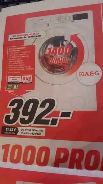 [Lokal Mediamarkt Stuhr] AEG Lavamat L68480FL - 8kg Waschmaschine