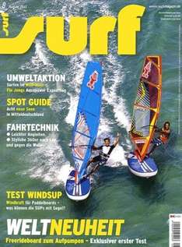 """Jahresabo der Zeitschrift """"Surf"""" für 46,50€ mit 15,00€ Verrechnungsscheck - Effektivpreis: 31,50€"""