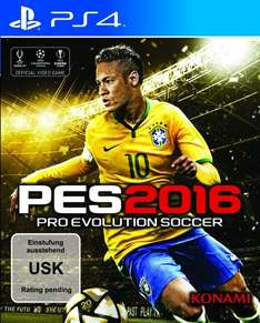 [amazon] Pro Evolution Soccer (PES) 2016 (PS4) für 49,99€