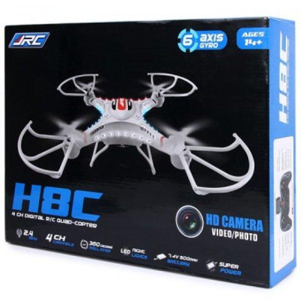 JJRC H8C LED Quadcopter mit HD Kamera und Fernbedienung inkl. EUSt & Versand nur 48€