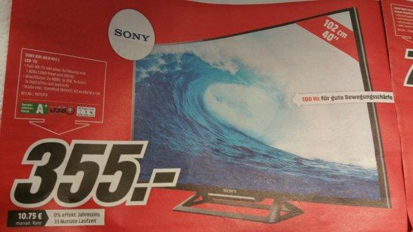 [Lokal Berlin] Sony KDL 40 R 455C 355 €