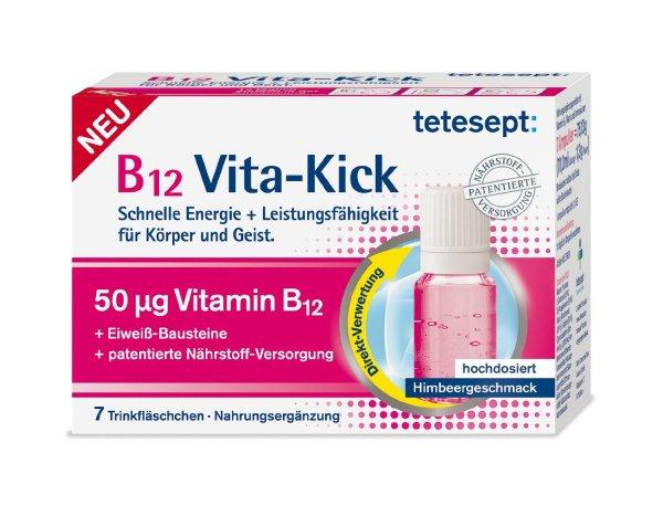 [Amazon-Marktplatz] Tetesept B12 Vita-Kick Trinkfläschchen 7er, 5er Pack