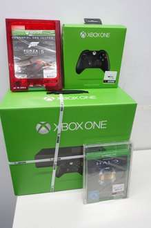 MICROSOFT Xbox One 500 GB Konsole+Forza 5 + Controller +Halo The Master Chief Collection im Saturn Outlet NEU