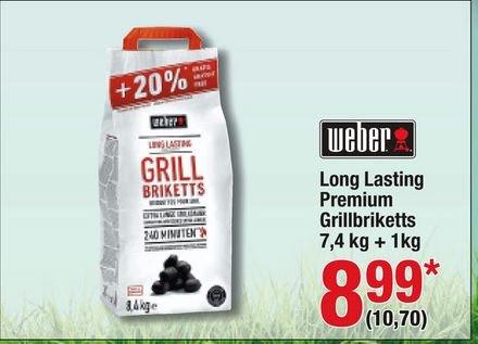 [Metro/Bundesweit] Weber Long Lasting Premium Briquettes 8,4 kg