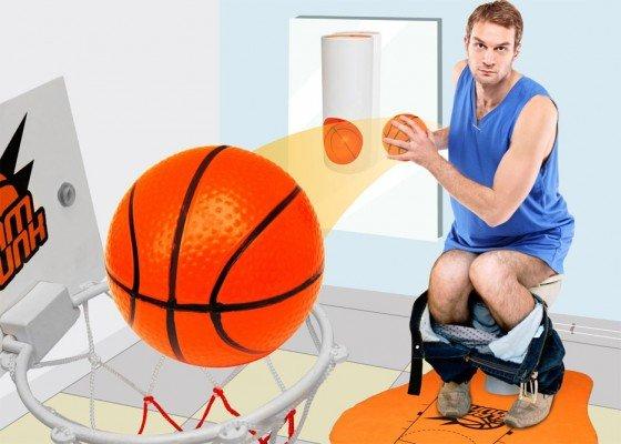 [12% Qipu] WC-Basketball-Set für 12,80€, nächster Preis 15,80€;
