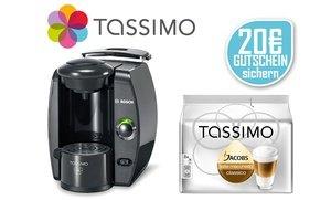 TASSIMO FIDELIA T4 mit 20 € Willkommens-Gutschein* und T Discs Latte Macchiato für 33 € @groupon