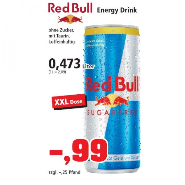 [THOMAS PHILIPPS] KW33: Red Bull Sugarfree XXL 0,473l für 0,99€ (entspricht 0,69€/0,33l)