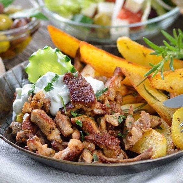 [OLDENBURG]KW33 Famila XXL: Salatkönig Tzaziki 500g // Sprehe Hähnchen Pfannen-Gyros 400g für 1,11€