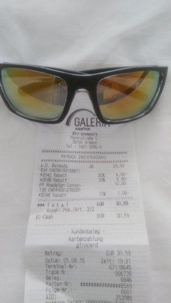 [Lokal Bremen] Verschiedene Sonnenbrillen 50% reduziert bei Galeria Kaufhof