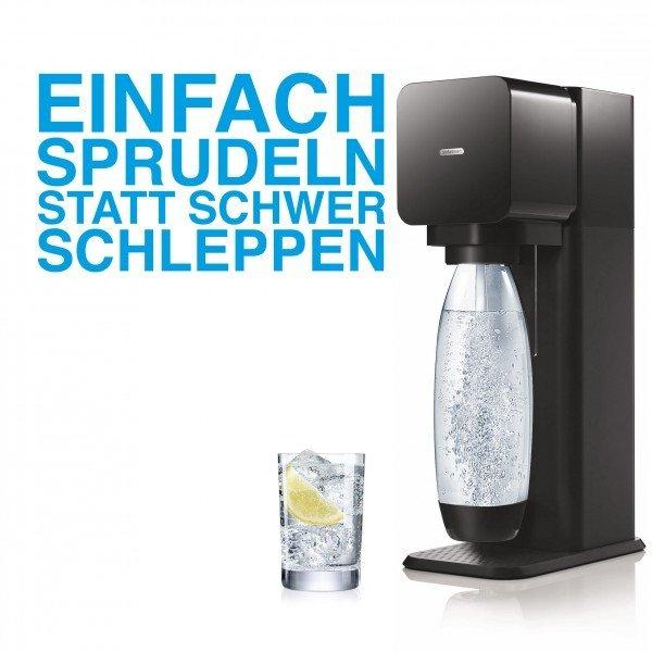 SodaStream Play Wassersprudler schwarz (Neuware mit Schönheitsfehler) von Comtech