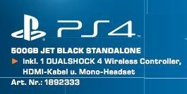 [lokal Köln Saturn] Playstation 4 nur Freitag 07.08.2015 für 289 EUR