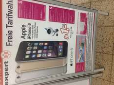 [Expert] T-Mobile Magenta Mobil S (Friends) inkl. iPhone 6 (16GB-1€/64GB-77€) in allen Farben 39,95€/Monat