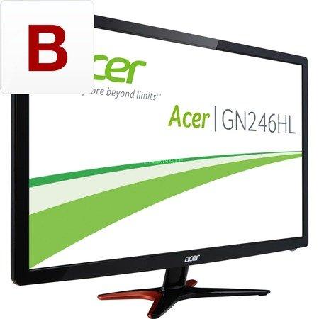 """Acer Monitor 24"""" 144Hz 3D Ready """"GN246HLBbid"""" für 219,90 @ ZackZack"""
