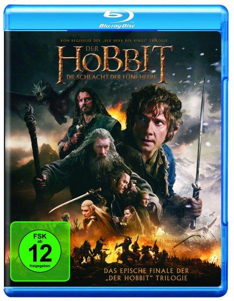 Der Hobbit: Die Schlacht der fünf Heere [Blu-ray] für 7,99 € > [amazon.de] > Prime
