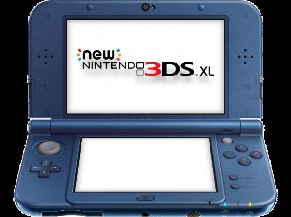 (Österreich) New Nintendo 3DS XL Metallic Blau 170€