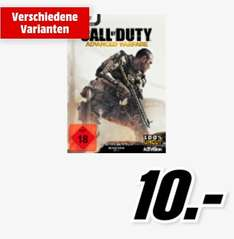[Media Markt Bundesweit] Call of Duty: Advanced Warfare (Special Edition) für PC