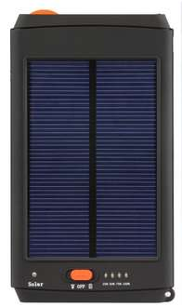 [amazon Shop] Powerbank CMX EBP-S-N 120 Power Bank Solar 12000mAh