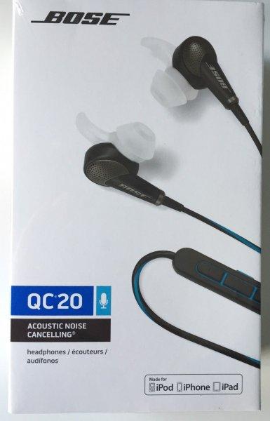 Neue Bose Quietcomfort QC20i schwarz oder weiß für iOS bei eBay durch Preisvorschlag