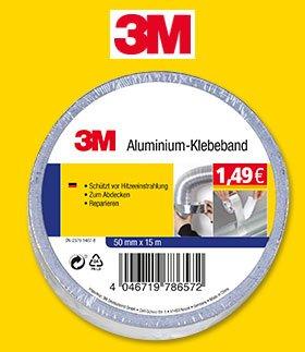 Norma bundesweit ab 10.08. - 3M Aluminiumklebeband 1,49 - 3M Reparaturset 3,99 - 3M Doppelseitiges Klebeband 1,49