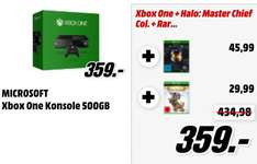 [MM Online] MICROSOFT Xbox One Konsole 500 Gb + Halo: The Master Chief Collection + Rare Replay