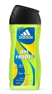 [Amazon-Marktplatz] adidas Dusche 2in1 Get Ready, 250 ml, 6er Pack (6 x 250 ml)