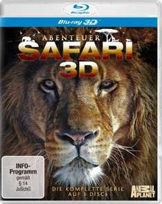 [Amazon-WHD] Abenteuer Safari - Die komplette Serie [3D Blu-ray]