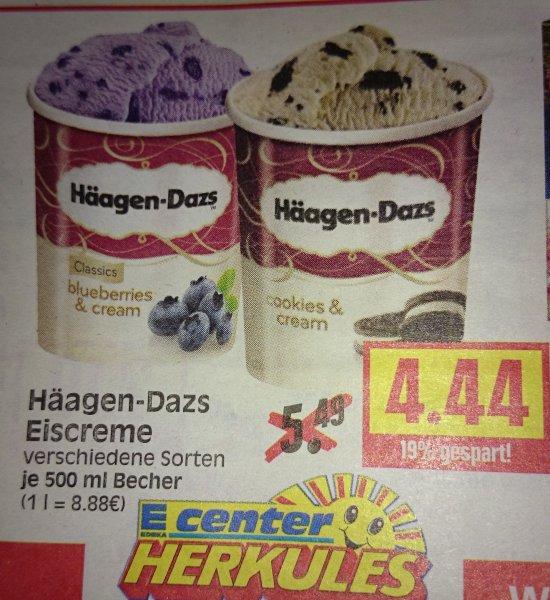 [Edeka Herkules + Coupies] Häagen-Dazs 500 ml für 2,94 €