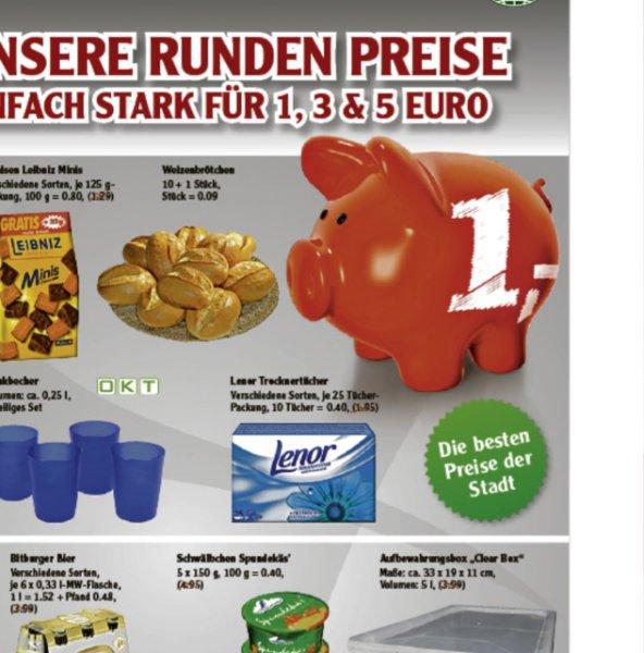 Lenor Trocknertücher 1€ Globus Wiedbaden
