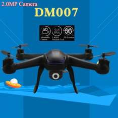 DM007 LED Quadcopter Drohne mit 2MP Kamera bei allbuy