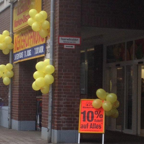 [Offline Lokal] 10% auf alles bei Netto Düsseldorf Alt-Eller wegen Neueröffnung nach Umbau