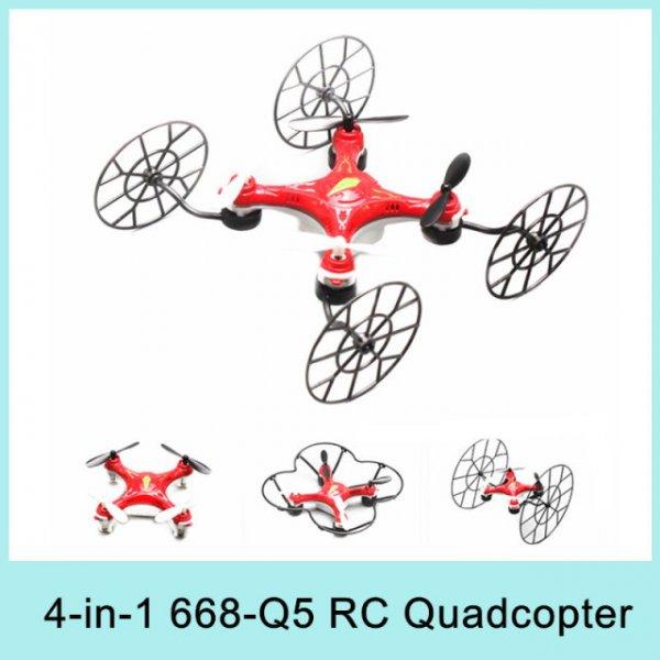 Multifunktions 4 in 1 Mini Drohne 668-Q5 RC mit Bestpreisgarantie