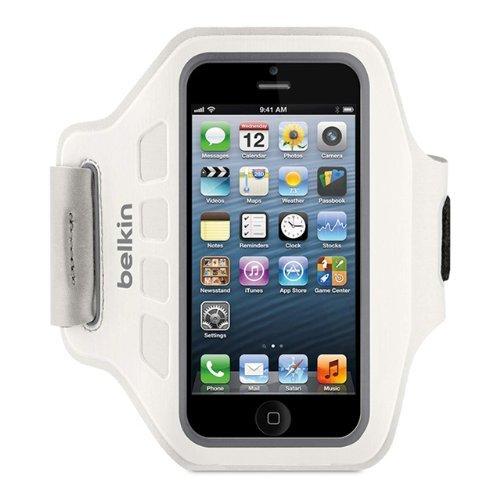 [3% Qipu] Belkin Easefit Neopren Polyester Sport Armband für Apple iPhone 5/5s weiß für 6,99€ frei Haus @Dealclub