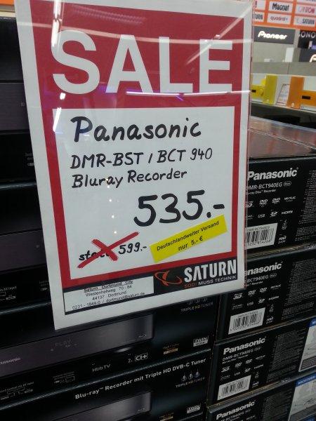 PANASONIC DMR-BCT oder BST 940 Bluray Recorder 2TB !!