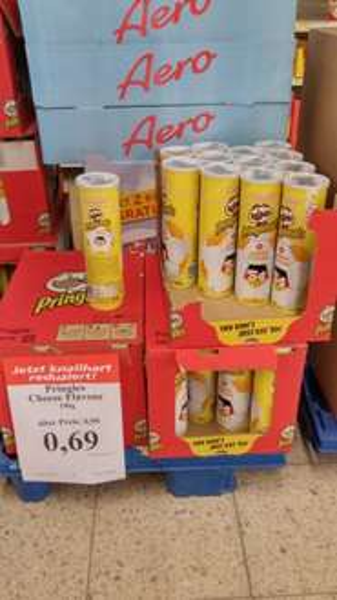 [LOKAL 46483] Pringles Cheese für 0,69€ - MHD Ware