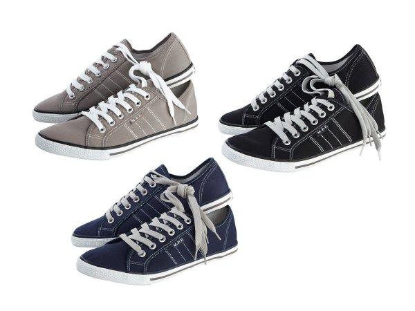 (Lidl offline) Herren Canvas-Sneakers auf 4,99 Euro reduziert (ca. 30%)