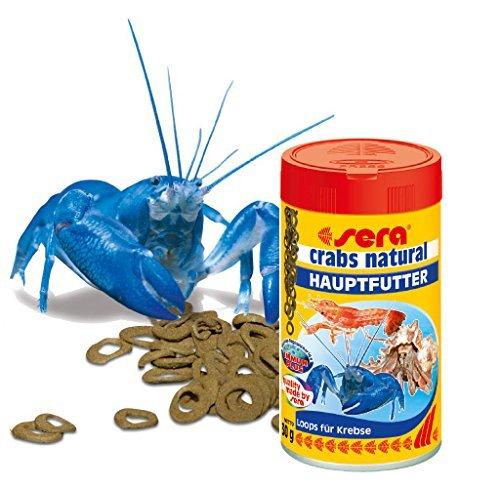 [Amazon-Prime] Sera crabs natural, 1er Pack (1 x 100 ml)  Hauptfutter für Krebse