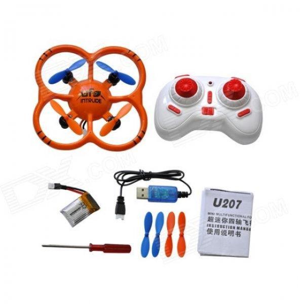 Drone-NIHUI U207 2.4GHz 6-Axis Mini Quadcopter UFO @allbuy