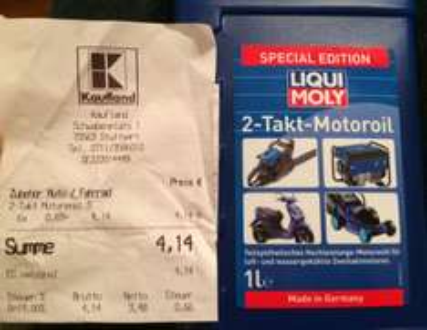 [Kaufland lokal?] Zweitaktmotoröl Liqui Moly für 0,69€/l