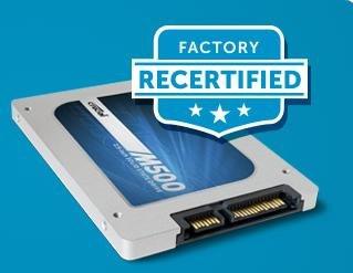 Crucial Factory recertified SSD M500 [480GB/960GB] [ABGELAUFEN/UNGÜLTIG]