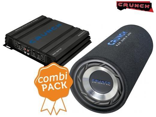 """Crunch Kombi-Set GPX500.2 2-Kanal-Verstärker Class A/B inkl GTS200 8"""" Bassreflexröhre für 79,95€ zzgl. 5,95€ Versand @iBOOD"""